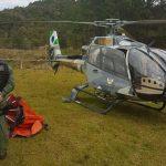 A polícia e os bombeiros do Paraná estão utilizando uma nova ferramenta para auxiliar no combate a incêndios. Foto: Divulgação SESP.Foto: Divulgação SESP