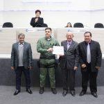 Câmara de Lages homenageou militares que participaram de resgate na Serra do Rio do Rastro. Foto: Nilton Wolff (Câmara de Lages)