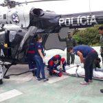 EC145 do CTA realiza transporte aeromédico de paciente para transplante de fígado de São Luís para Fortaleza