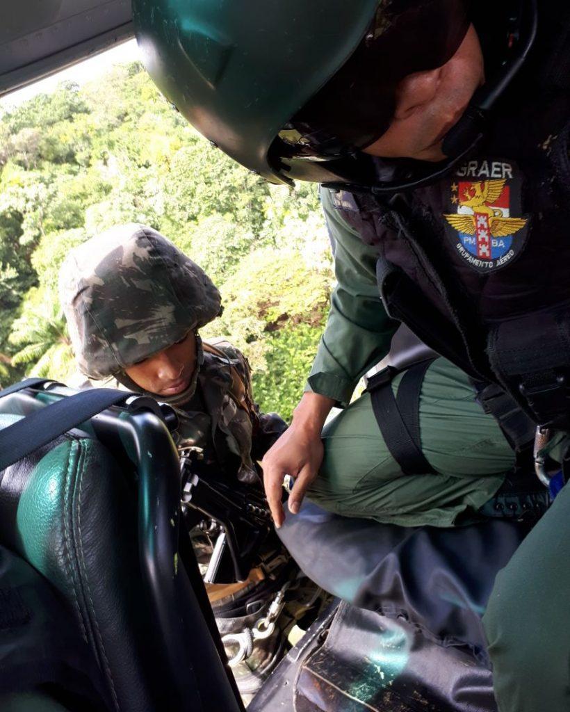 GRAer da PM da Bahia participa do encerramento da semana do soldado promovia pelo Exército Brasileiro