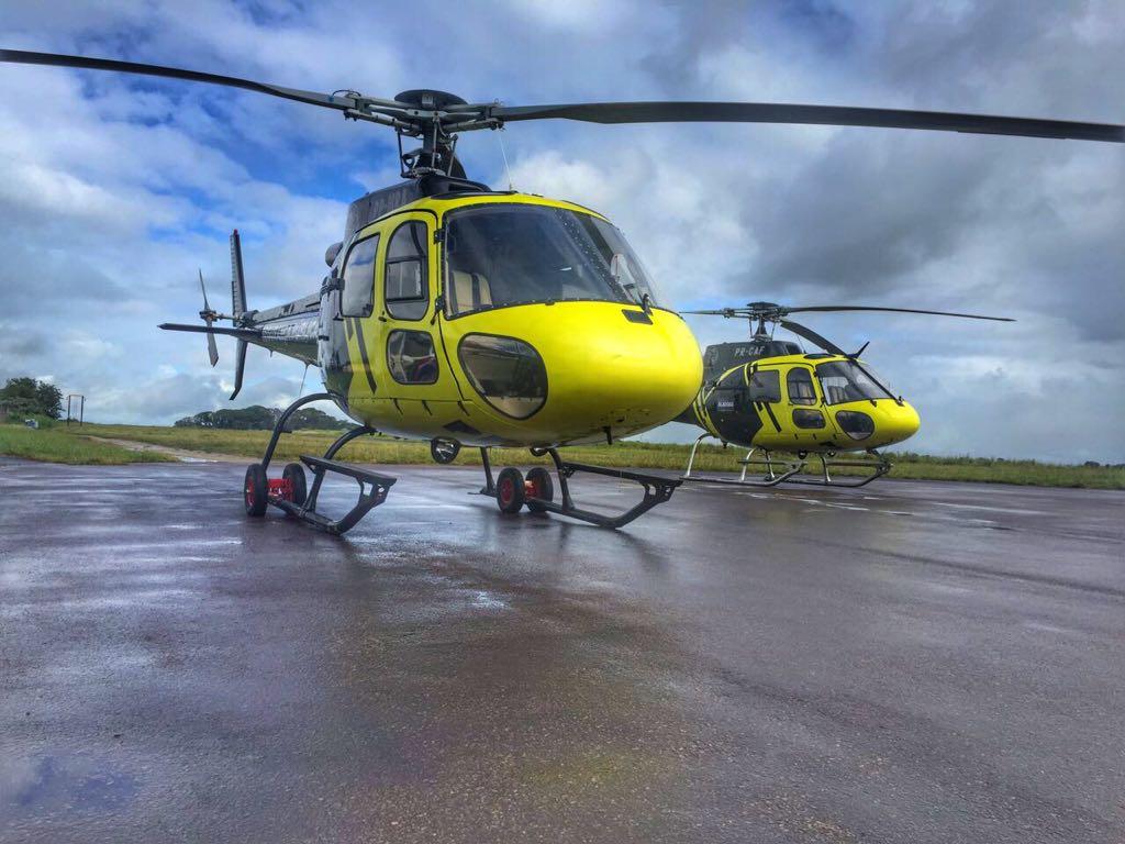helicóptero Falcão 05 (esquilo AS350B3e)