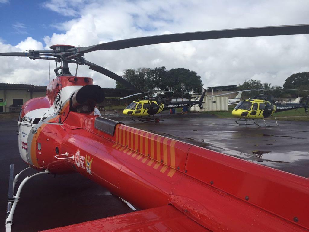 Novos helicópteros do Grupamento Aéreo de Alagoas atuarão no resgate de pessoas e no combate ao crime