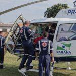 Serviço aeromédico do CONSAMU chega ao voo número 1.200