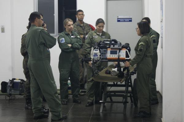 CEVAM capacita médicos, enfermeiros e técnicos de enfermagem da FAB