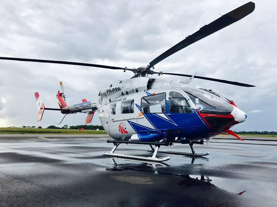"""Aviões e helicóptero do GRAESP do Pará são utilizado nas buscas das vítimas do naufrágio da embarcação """"Capitão Ribeiro"""""""