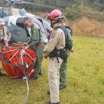 A polícia e os bombeiros do Paraná estão utilizando uma nova ferramenta para auxiliar no combate a incêndios. Foto: Divulgação SESP.