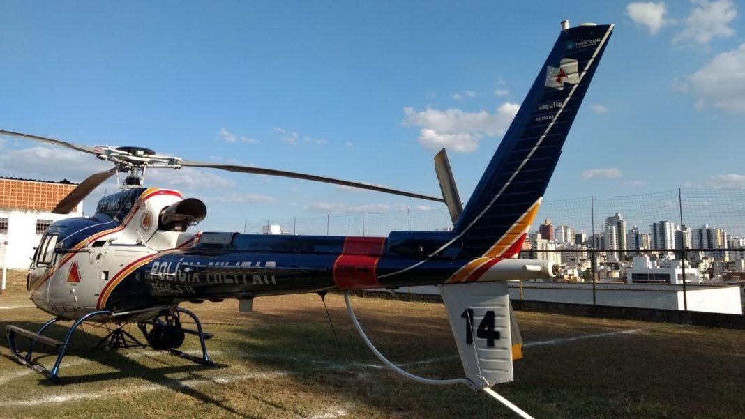 Pegasus 14 apoia 23º BPM em Operação Pacto pela Vida na cidade de Divinópolis