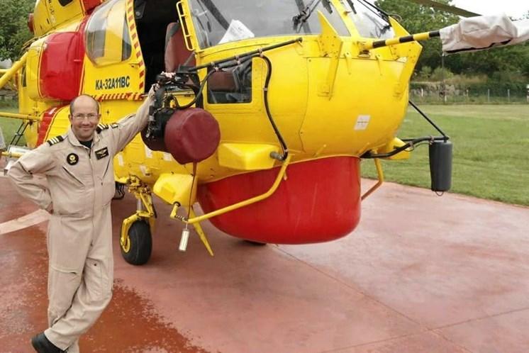 Américo Sousa pilotava a aeronave