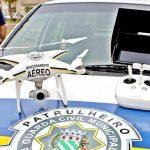 Guarda Civil de Potirendaba utiliza drone para melhoria da segurança da cidade