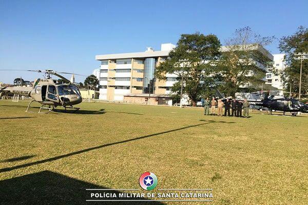 BAPM e SAER realizam o transporte de recém nascido de Chapecó para Joinville