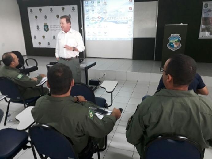 CIOPAer do Ceará realiza curso pioneiro sobre motores voltado para pilotos