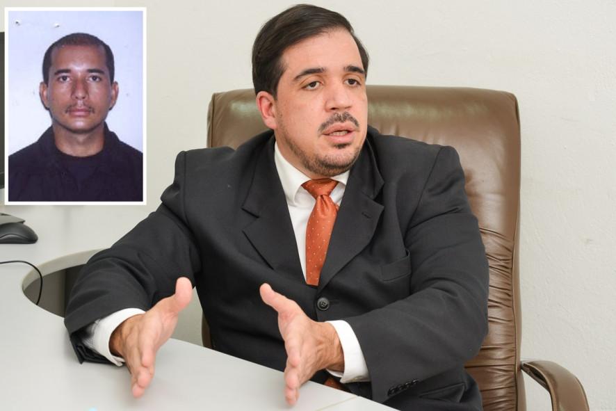 O juiz Marcos Faleiros marcou audiência do caso da morte do soldado Abinoão Soares de Oliveira.