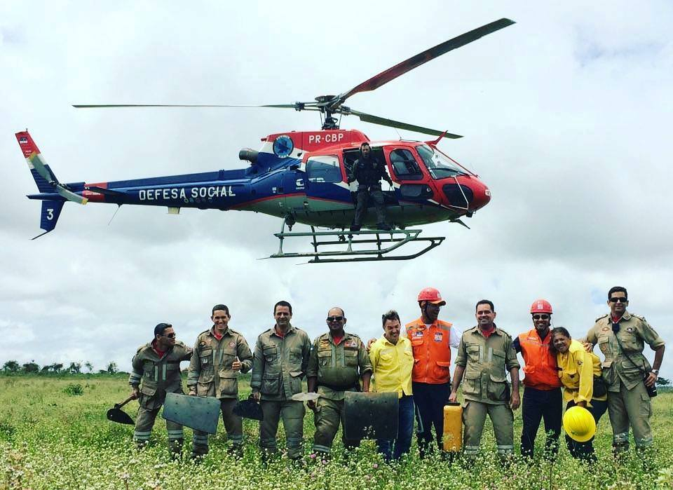 II Curso de Formação de Brigadas de Prevenção e Combate aos Incêndios Florestais, ministrado por instrutores do Centro Nacional de Prevenção e Combate aos Incêndios Florestais - Prevfogo