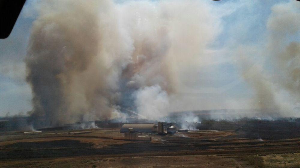 CIOPAer de Tocantins atua no combate a incêndios florestais em Palmas e no interior do Estado
