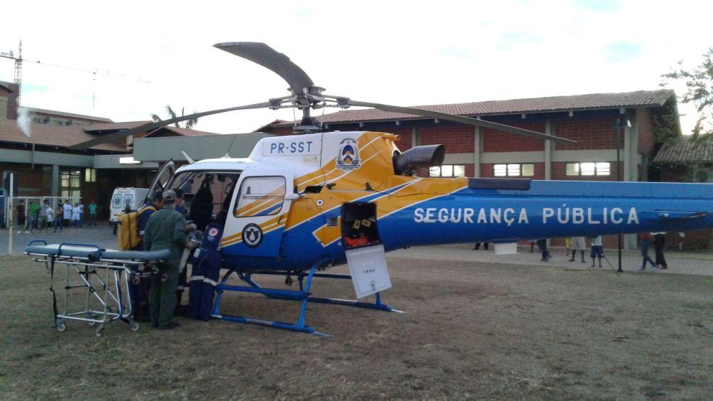 CIOPAER/TO auxilia SAMU Palmas em missão aeromédica.