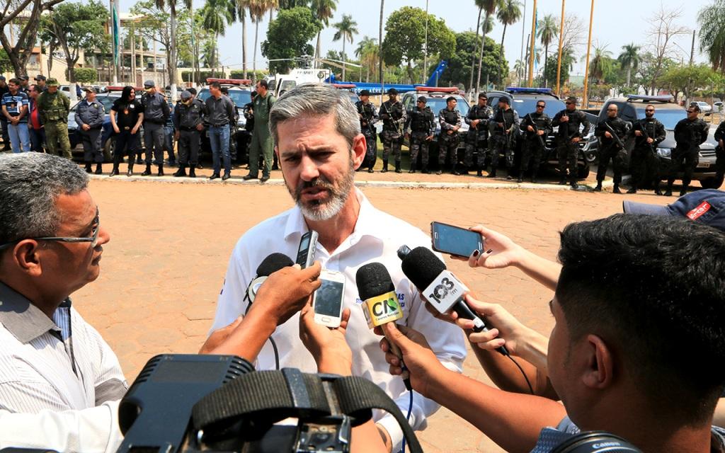 Região de fronteira recebe operação integrada de Segurança Pública