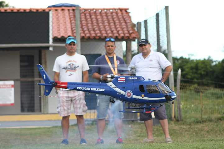 Grupamento Aéreo e as aeronaves remotamente pilotadas para uso recreativo