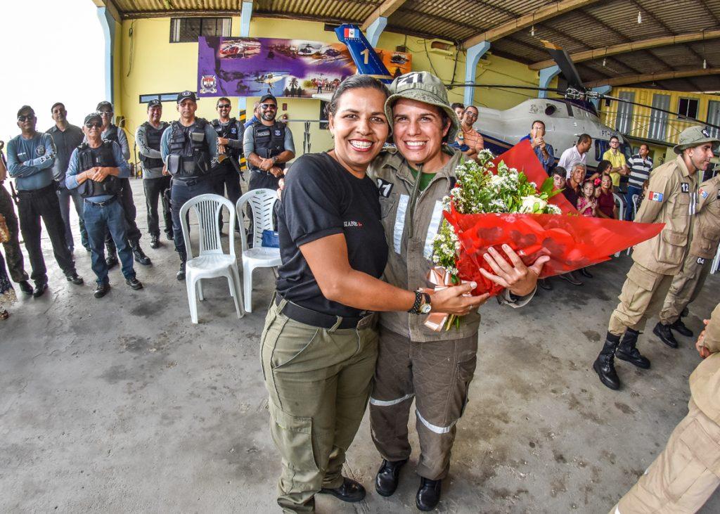 Alagoana é 1ª mulher policial civil no Brasil a concluir Curso de Operador Aerotático