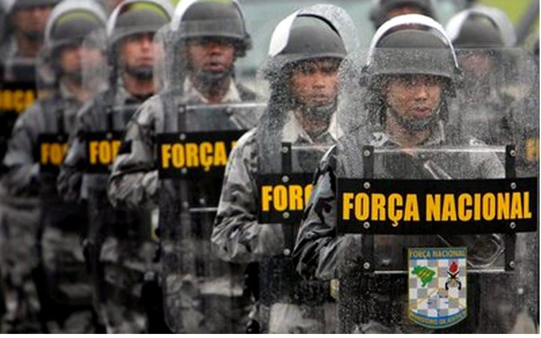 A presença da Força Nacional no estado foi solicitada pelo governador Robinson Faria, em agosto de 2016 – foto: Divulgação