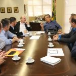 Vice-governador de Santa Catarina garante permanência do SAER em Criciúma. Foto: Jeferson Baldo GVG