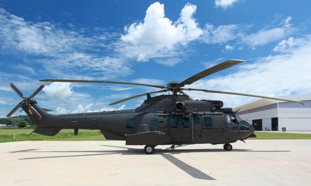 Helicóptero EC 725 - Jaguar.