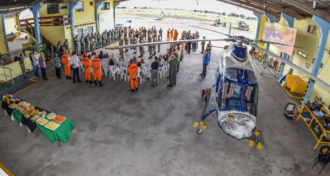 Grupamento Aéreo da Segurança Pública forma nova turma de aerotáticos. Foto ASCOM SSP.
