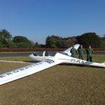 Pilotos do Grupamento Aéreo da PM da Bahia concluem curso de planador