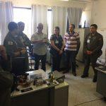 Comando de Policiamento Aéreo da PMDF recebe alunos do Curso de Prevenção de Acidentes Aeronáuticos  do CENIPA