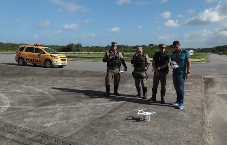 Policiamento Rodoviário de Pernambuco utilizará drone no feriado de 7 de setembro