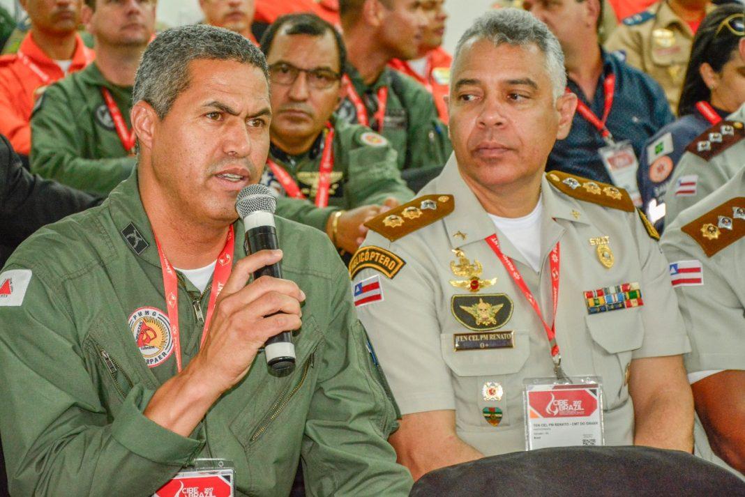 Cel PM Rodrigo de Sousa Rodrigues, comandante do COMAVE de Minas Gerais.