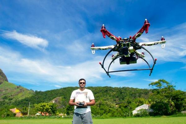SP, MG e RJ são os estados que têm maior número de drones/Foto: Fábio Maciel