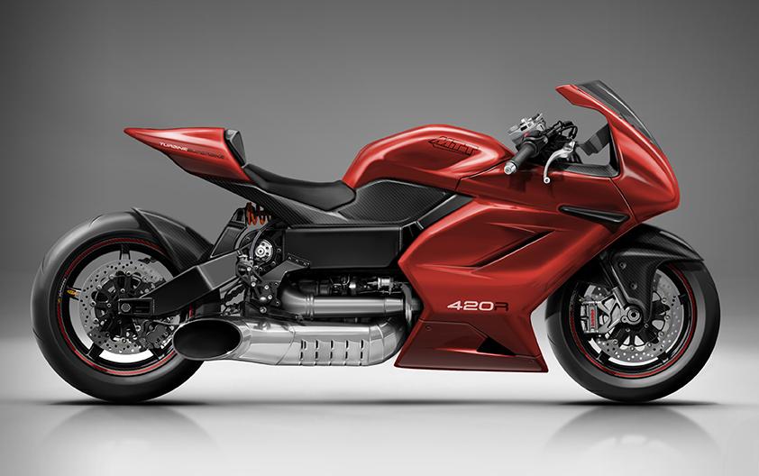MTB's New 420 RR (Race Ready) Turbine Superbike