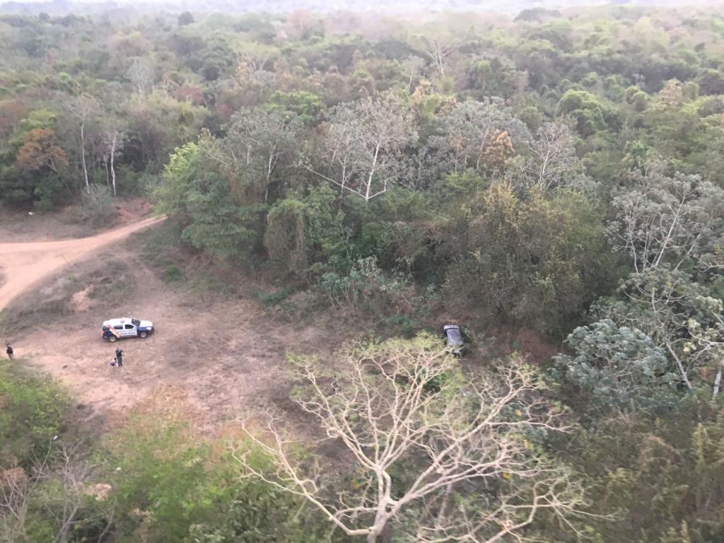 CIOPAer resgata mulher de PM sequestrada em Várzea Grande