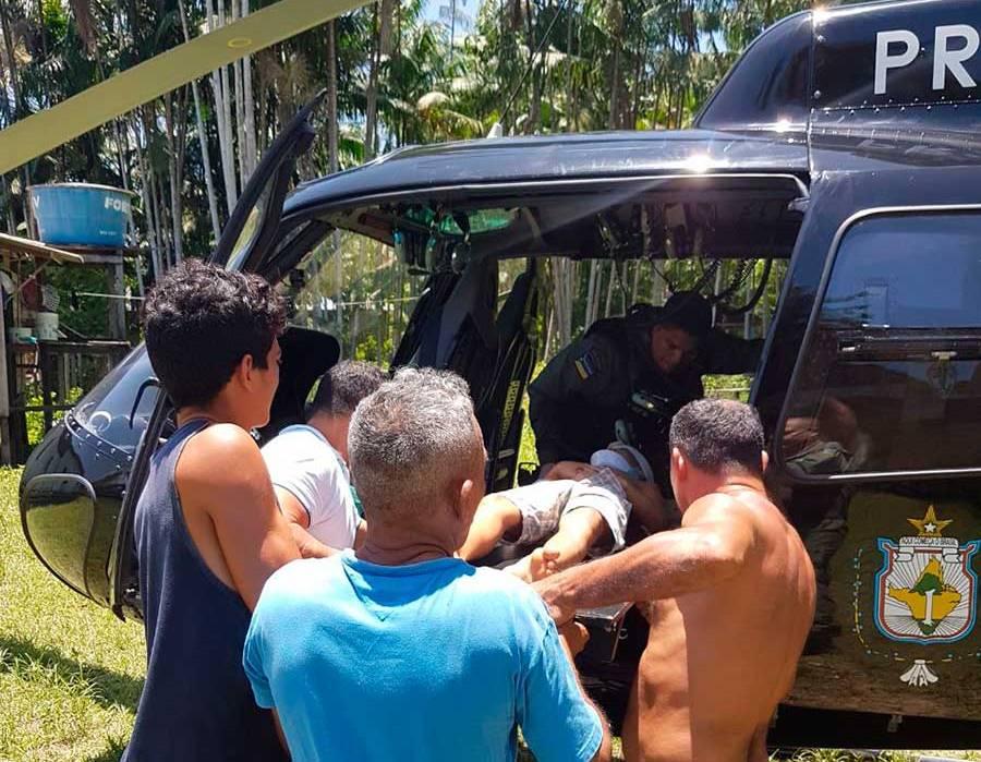 GTA resgata criança em comunidade paraense