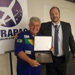 Entrega do título de Membro Honorário ao astronauta Marcos Pontes