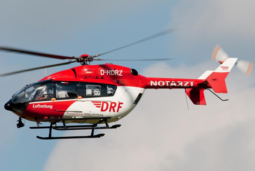 DRF Luftrettung EC-145. foto-Bomberpilot1
