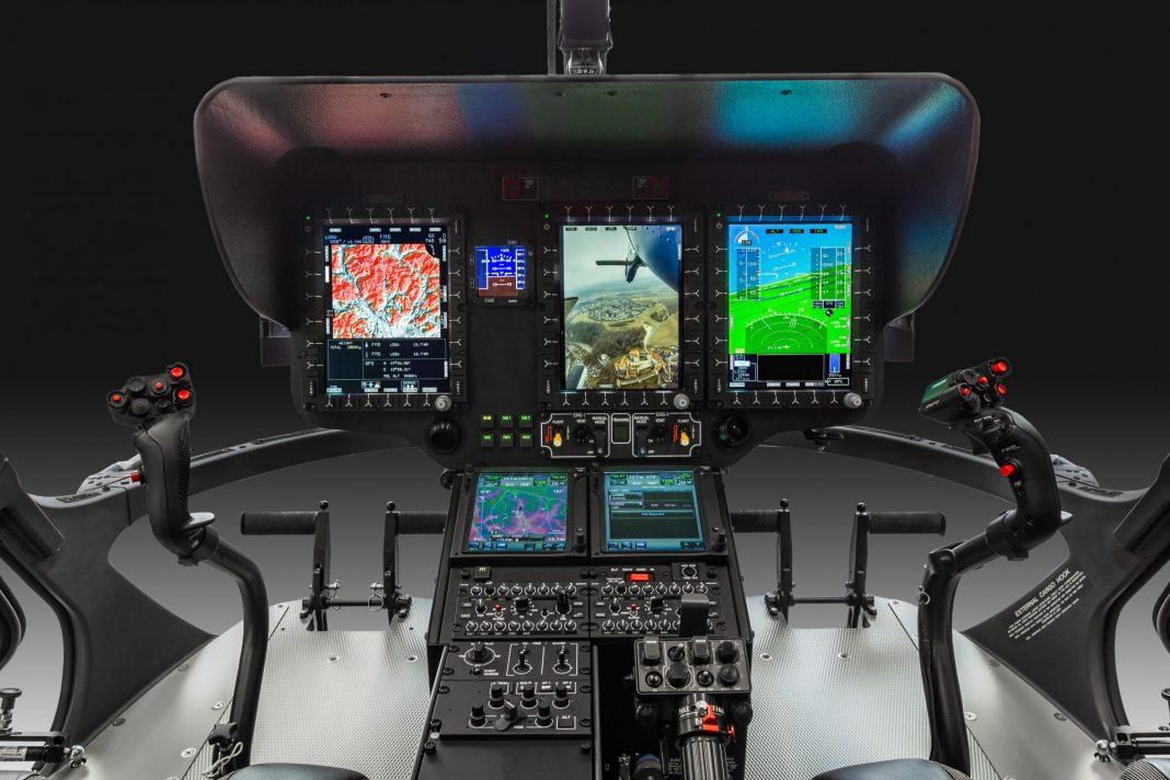 H135 Cockpit Helionix. Foto: Christian D Keller.