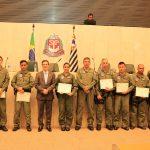 Grupamento Aéreo é homenageado no Parlamento Paulista pelo Deputado Coronel Camilo