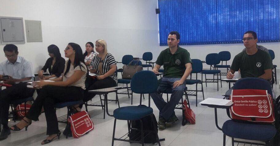 Servidores do CIOPAer participam de treinamento em Gestão e Fiscalização de Contratos