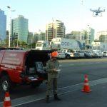 Tecnologia é utilizada pelos bombeiros para planejamento de vias de escape e orientação em caso de incidentes