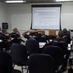 Alunos do CTO 2107 durante treinamento. Foto: Ricardo de Carli.