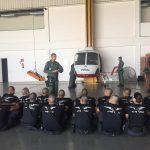 Alunos do CTO 2107 durante treinamento. Foto: Sérgio Oliveira.