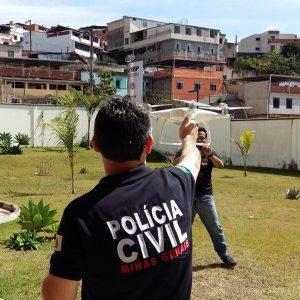 4° Departamento de Polícia Civil adquire drones para segurança pública. Foto: Jéssica Pereira.