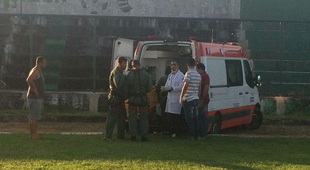 Falcão 05 foi acionada pelo Serviço de Atendimento Móvel de Urgência (Samu) para realizar o resgate de uma gestante