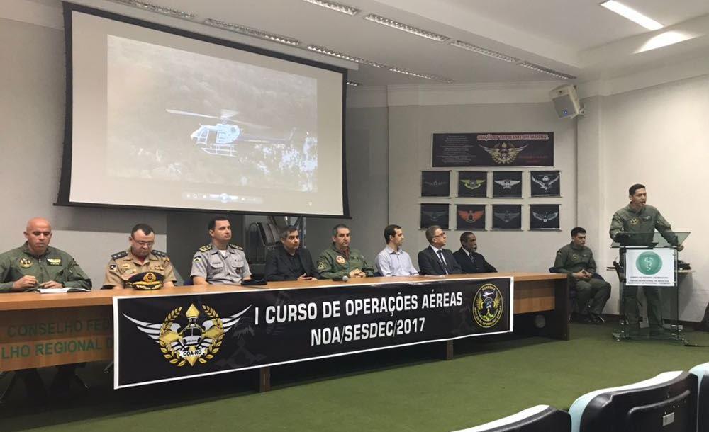 Começa o I Curso de Operações Aéreas do Estado de Rondônia que formará tripulantes multimissão