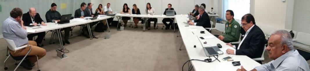 O Cel PM RR Eduardo Alexandre Beni, editor do Portal Piloto Policial, e o Cel PM Paulo Scachetti Júnior, Comandante do GRPAe da PMESP, receberam apoio do Grupo de Trabalho formado por 17 entidades da Aviação Civil.