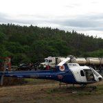 """Helicóptero """"Saúde 03"""" é acionado para atendimento de vítima de acidente na BR 272 próximo a Campo Mourão"""