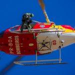 Corpo de Bombeiros de Minas Gerais comemora 10 anos de operações áreas, salvando vidas. Foto: Mitchell Nazar.