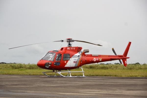 P.B.S. é portador de Leucemia Mieloide Aguda e foi levado pela equipe aeromédica do Falcão 05 ao Rio Grande do Norte para fazer transplante de medula óssea (Foto: Assessoria)