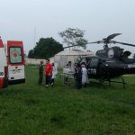 O CTA, em parceria com a SES, realizou mais um importante transporte aeromédico. Foto: Divulgação CTA.